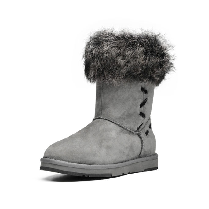 picture of australian fur winter boots