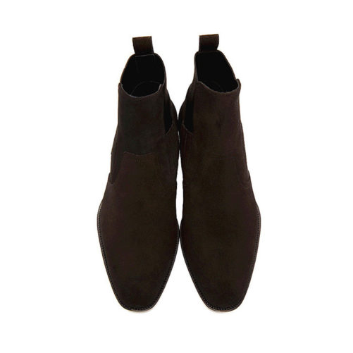 picture of the top of the kanye west chelsea style boots