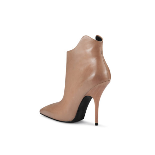 pointed toe ankle boots picture of the back high heel