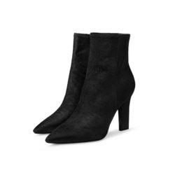 sexy high heel leather ankle boots sexy womens boots with pointed toe