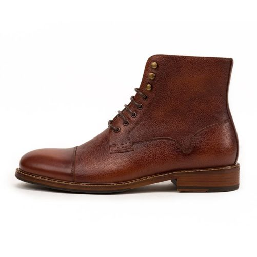 picture of the side of the retro british stylish ankle boot
