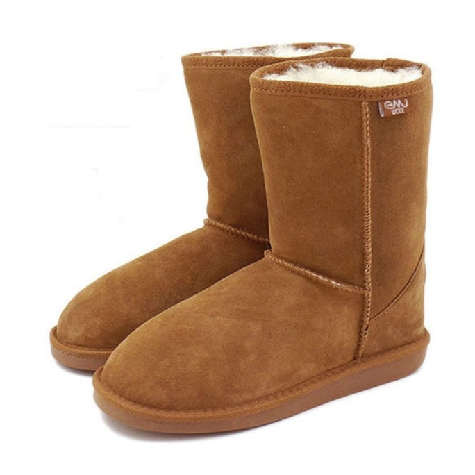 australian inner wool winter boots picture of the side