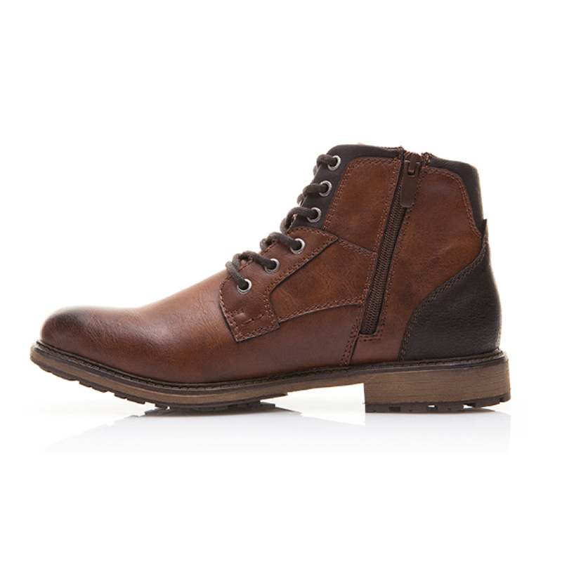 picture of the side of our vintage style mens casual boot