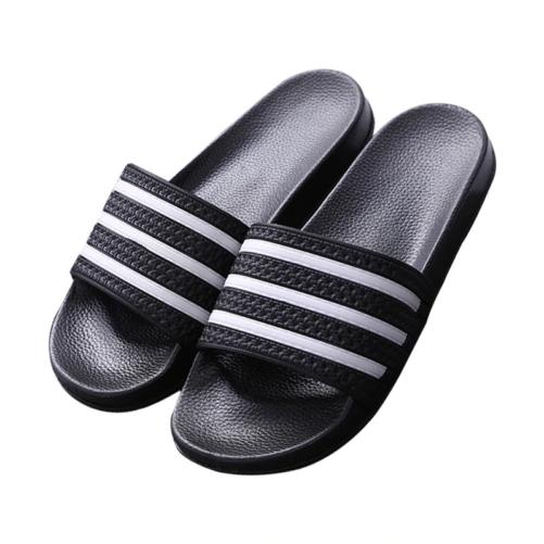 3 Stripe Sandal Flip Flops black
