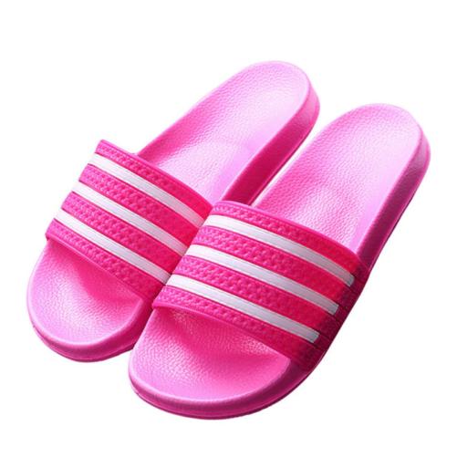 3 Stripe Sandal Flip Flops hot pink