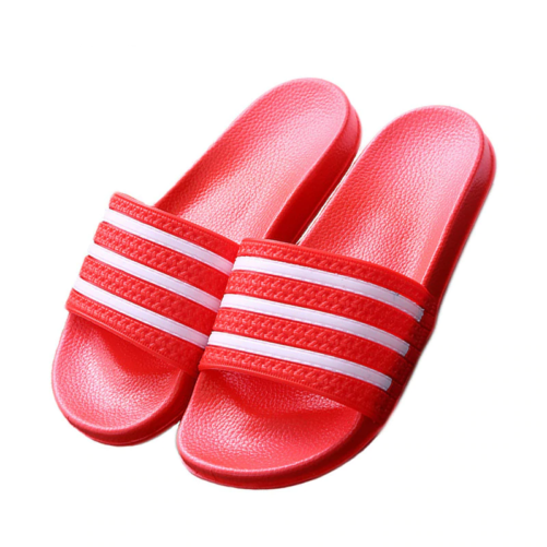 3 Stripe Sandal Flip Flops red
