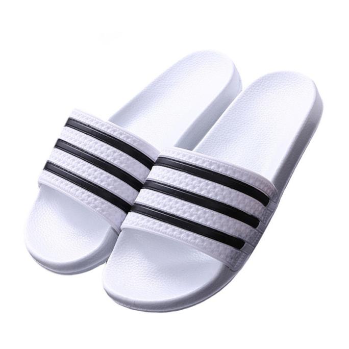 3 Stripe Sandal Flip Flops white