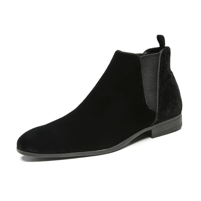 Dapper Fashion Chelsea Boots from the side