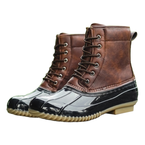 waterproof winter fashion duck boots