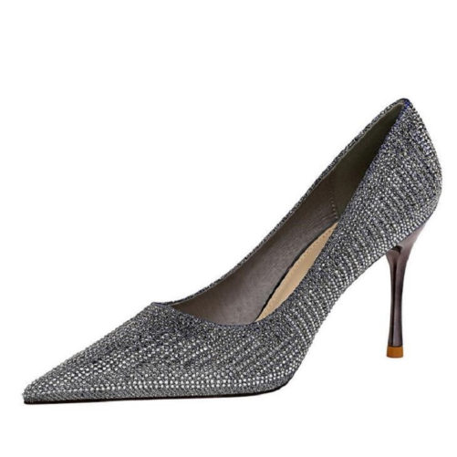 Fashionable America Style Metal Thin High Heels